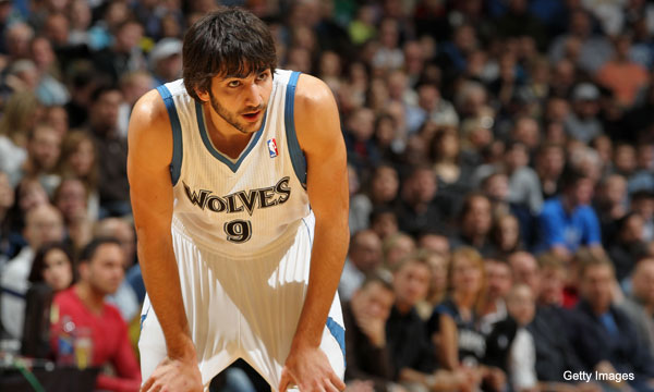 Ricky Rubio is in the NBA, now (Getty Images)