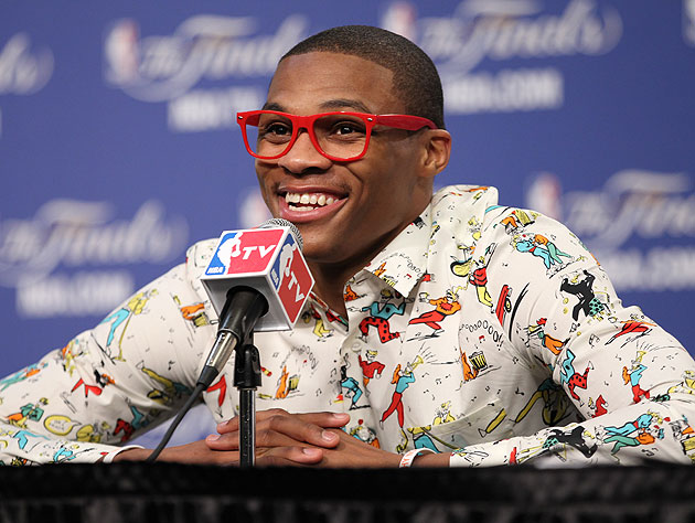 Russell Westbrook will surely be pleased to hear who has now weighed in. (Getty Images)