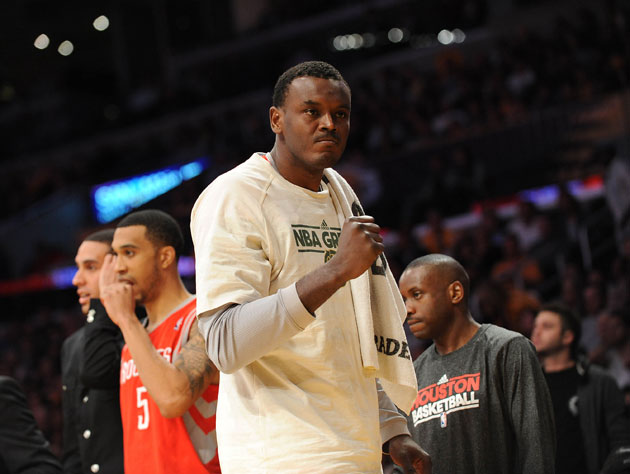 Samuel Dalembert is pumped (Getty Images)