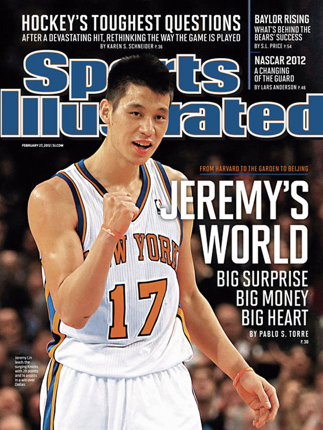Jeremy Lin scores his second straight Sports Illustrated cover,…