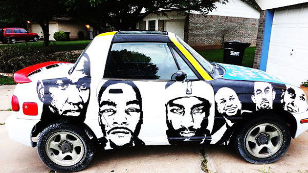 A rare Oklahoma City Thunder-themed Suzuki X-90 can be yours fo…