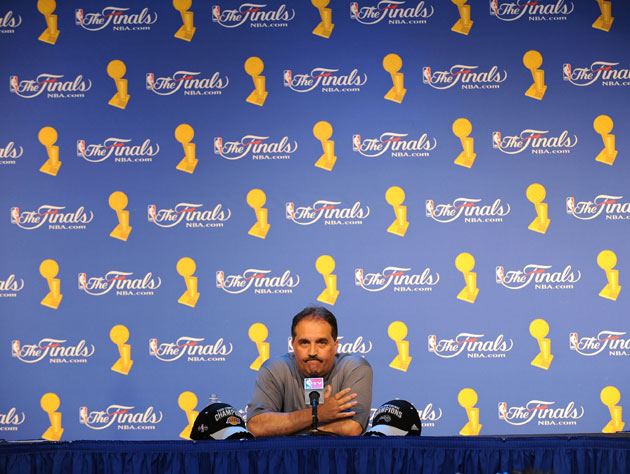 Stan Van Gundy's underwhelming audition for ESPN (Getty Images)