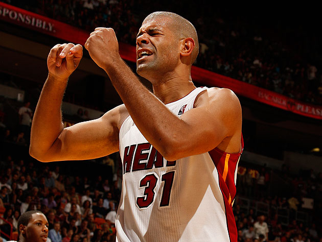 Shane Battier of the Miami Heat. (Getty Images)