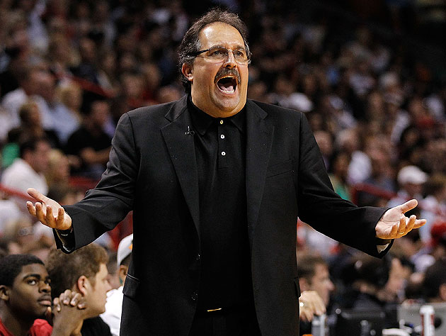 Stan Van Gundy seems agitated. (Getty Images)