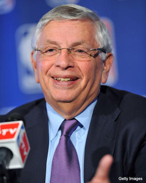 David Stern, explaining things (Getty Images)