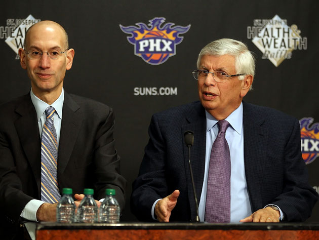 David Stern sets it straight while Adam Silver squirms (Getty Images)