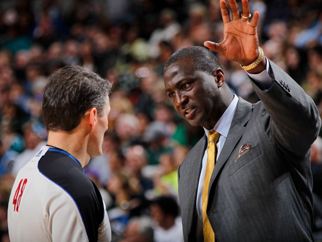 Tyrone Corbin, still got it (Getty Images)