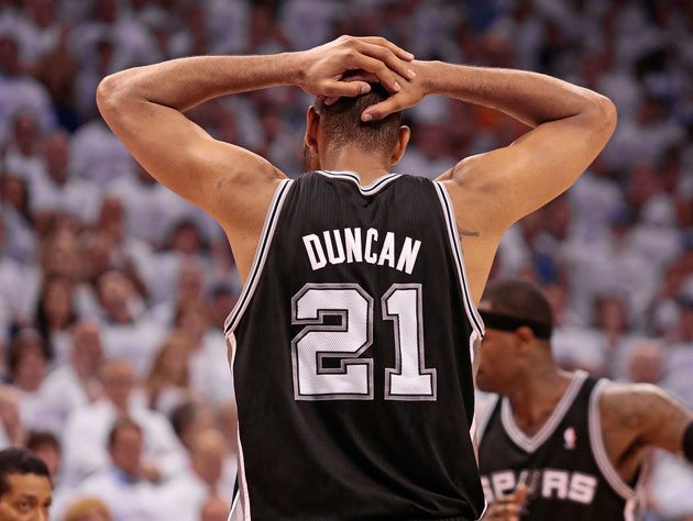 Tim Duncan can't believe he just left that much money on the table (Getty Images)