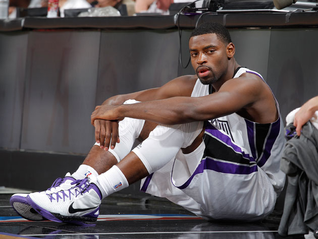 Tyreke Evans, just trying to fit in (Getty Images)
