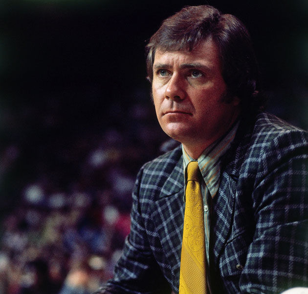 Tom Heinsohn considers colors. (Getty Images)