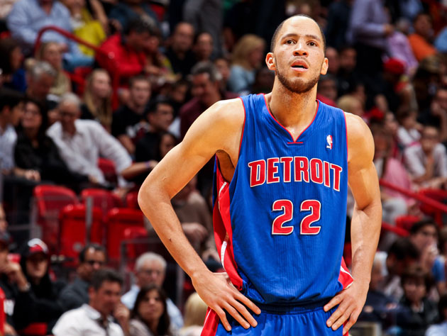 Tayshaun Prince in his last days as a Piston (Getty Images)