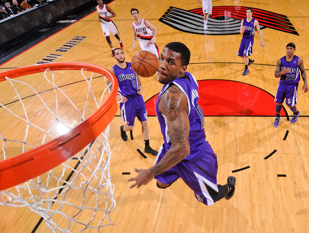 Thomas Robinson. Damian Lillard can't do this (Getty Images)