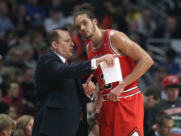 When healthy, Tom Thibodeau and Joakim Noah are a match made in heaven (Getty Images)