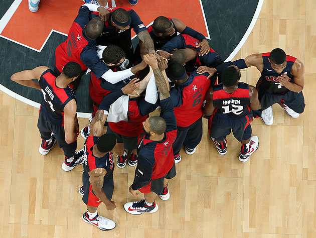 Team USA takes on Australia in Wednesday's final game. (Getty Images)