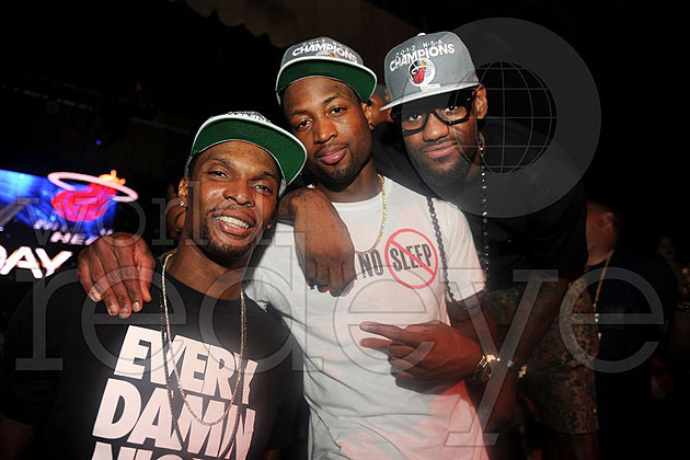 The Big 3, happy to be champions. (Photo via WorldRedEye.com)