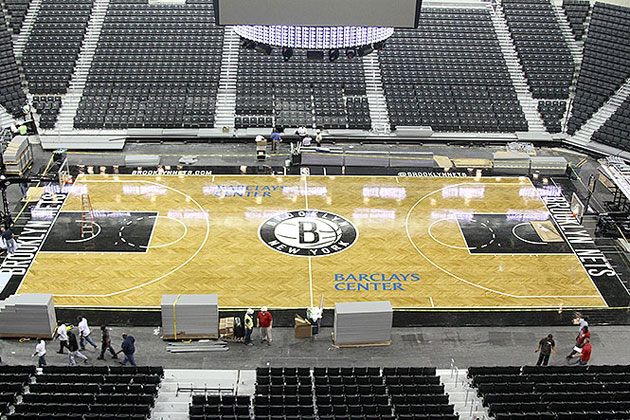 The Brooklyn Nets hope to fill at least some of those seats this season. (Photo via www.nba.com/nets)