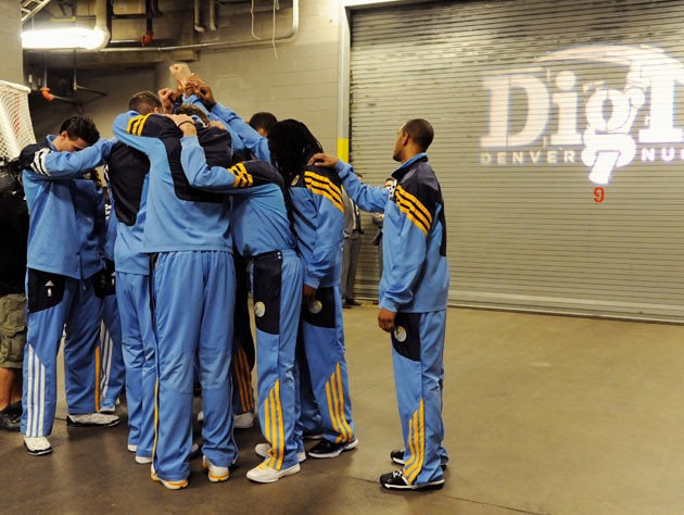 The Denver Nuggets are a very fun collection of players. They will eventually make you sad. (Getty Images)