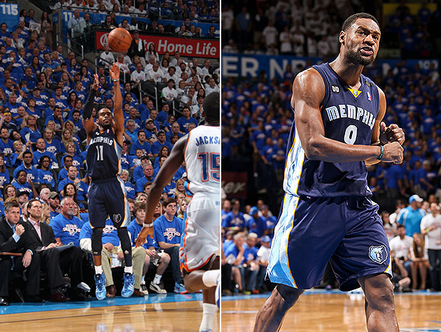 The Grizzlies backcourt came up big. (Getty Images)