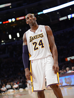 The Lakers' lopsided start to the season has Kobe Bryant spoiling for a fight. (Getty Images)