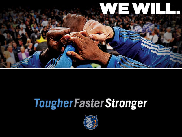 The Orlando Magic (top) and Charlotte Bobcats (bottom) have brand spankin' new slogans. (Images via NBA.com)