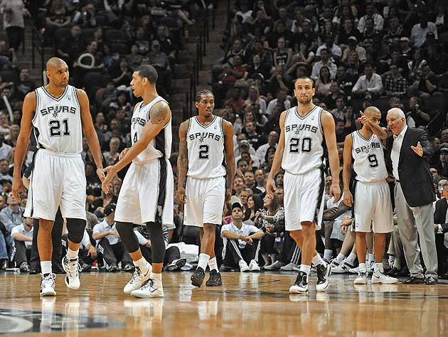 The San Antonio Spurs have been a wrecking crew for the past month. (Getty Images)