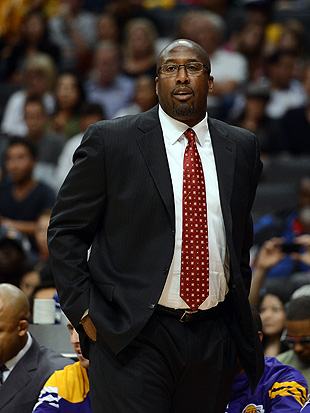 The fallout from the Lakers' early season struggles has reached Mike Brown's family. (Getty Images)