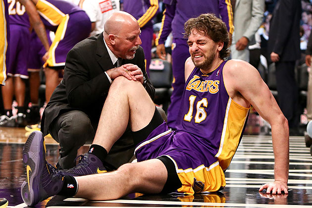 The news went from bad to worse for Pau Gasol on Wednesday. (Debby Wong-USA TODAY Sports)