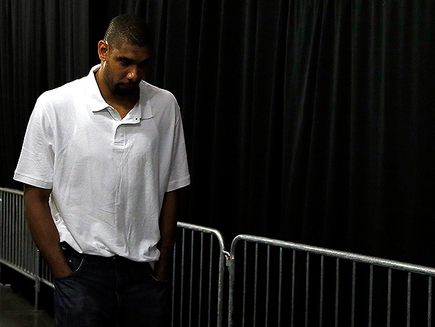 Tim Duncan was so close. (Kevin C. Cox/Getty Images)