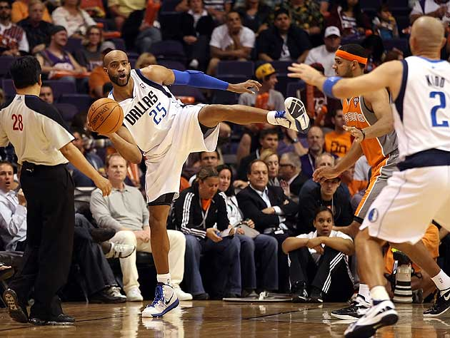 Vince Carter of the Dallas Mavericks. (Getty Images)