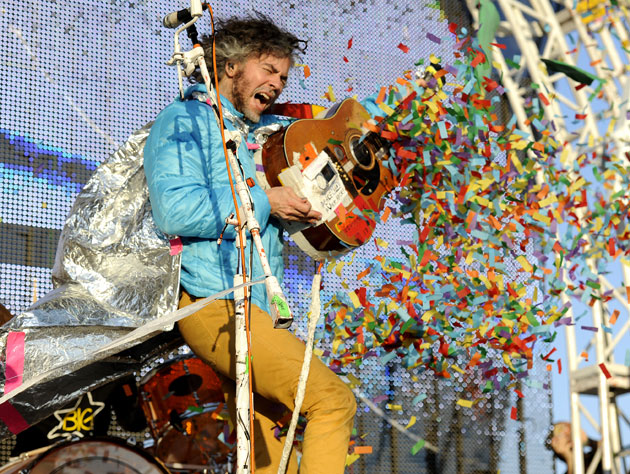 Wayne Coyne never travels far without a little Big Star (Getty Images)