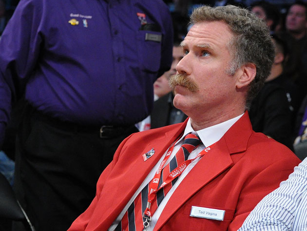Will Ferrell, in character (Getty Images)