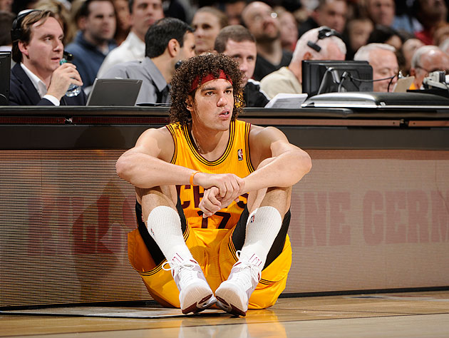 We're bummed too, Andy. (David Liam Kyle/NBA/Getty Images)