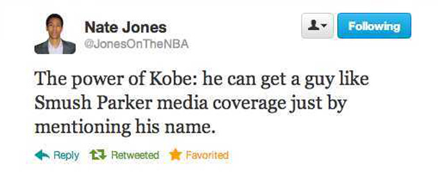 Yup. (Screencap via @JonesOnTheNBA)