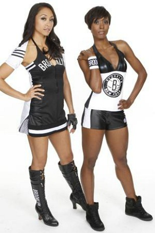 The Brooklynettes (via Brooklyn Nets)