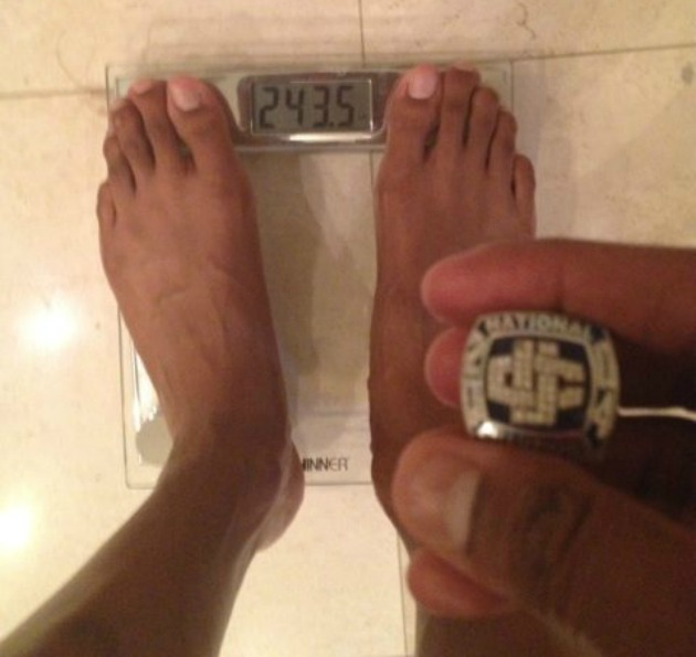 Charlie Villanueva is the biggest loser (via @CV31).