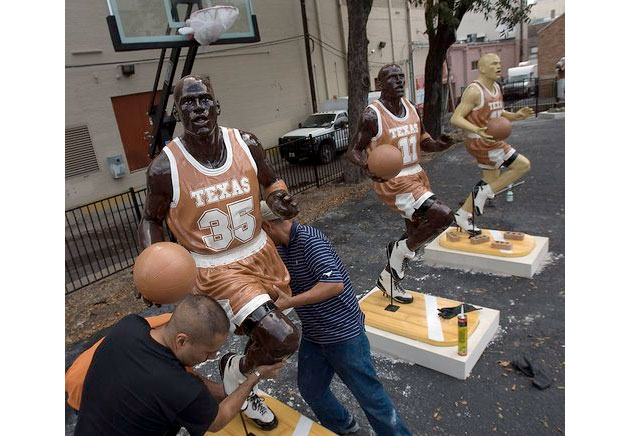 Michael Jordan mysteries: strange statues, shifting numbers and the oddest Jordan song ever