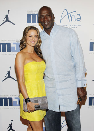 Yvette Prieto and Michael Jordan. Don't tell anyone what you've seen here. (Getty Images)