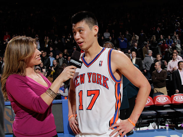 Jeremy Lin, ready to hit the sack (Getty Images)