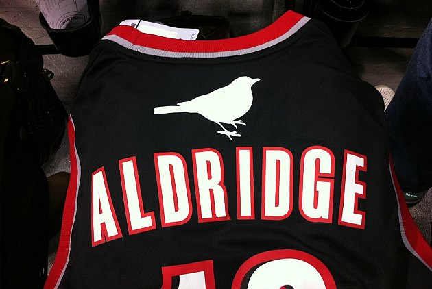 "A close-up of the ""Portlandia""-themed jersey (via @Carrie_Rachel)."