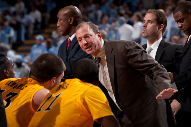 Long Beach State coach Dan Monson (Getty Images)