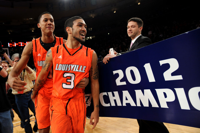 Big East tourney champ Louisville peaking at the right time
