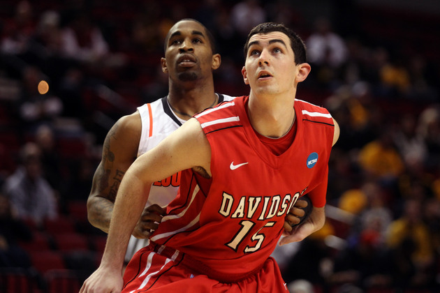 Jake Cohen hopes to lead Davidson back to the NCAA tournament (Getty Images)
