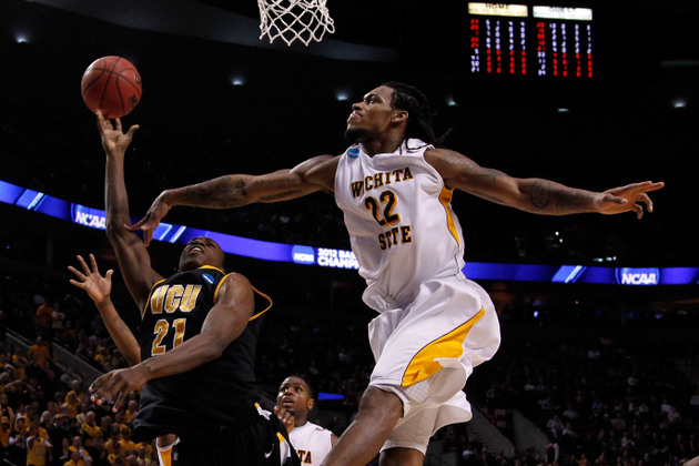Wichita State's Carl Hall (Getty Images)
