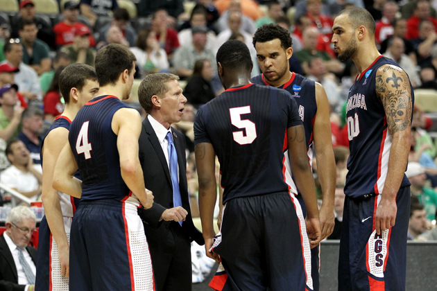 Gonzaga's run of conference titles ended last season (Getty Images)