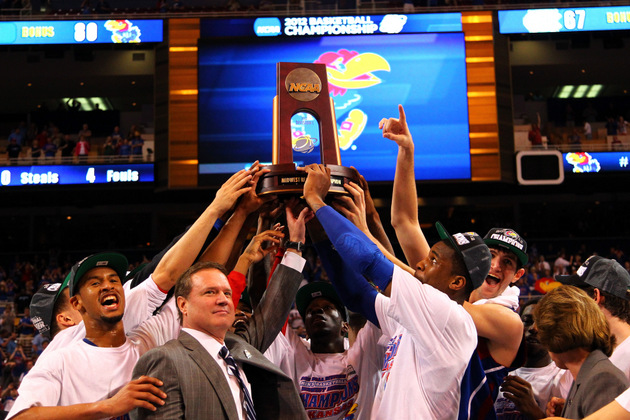 Kansas will make a league-high four Big Monday appearances next year (Getty Images)