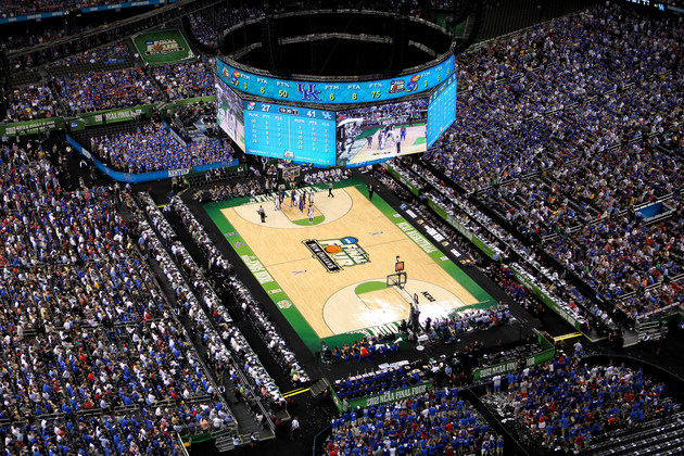 The Superdome in New Orleans hosted the 2012 Final Four (Getty Images)