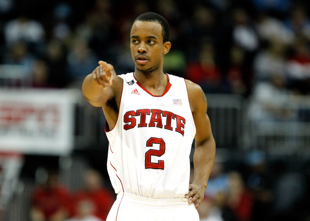 N.C. State guard Lorenzo Brown (Getty Images)