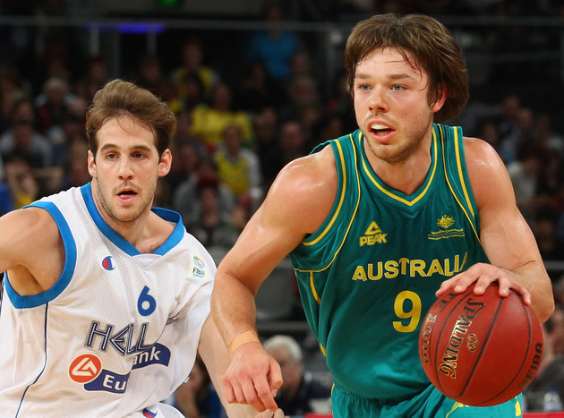 Saint Mary's guard Matthew Dellavedova played for Australia in the Olympics (Getty Images)