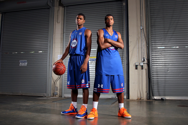 Andrew and Aaron Harrison (Getty Images)