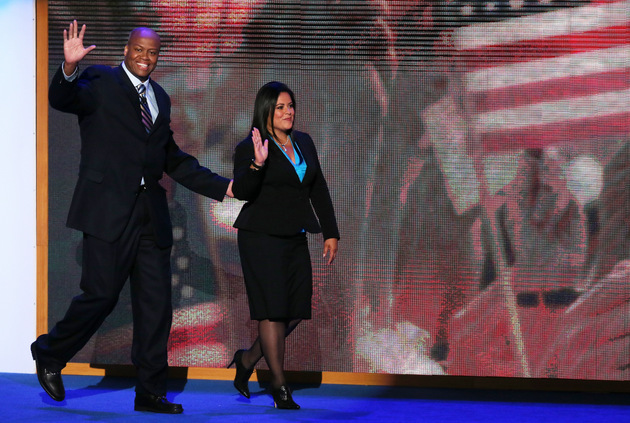 Craig Robinson and Maya Soetoro-ng (Getty Images)
